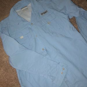 NWOT Columbia button down